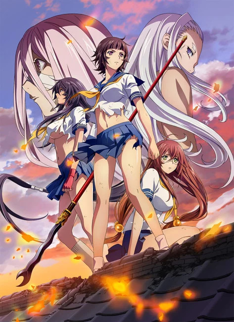 Ikkitousen: Western Wolves (UNCENSORED)