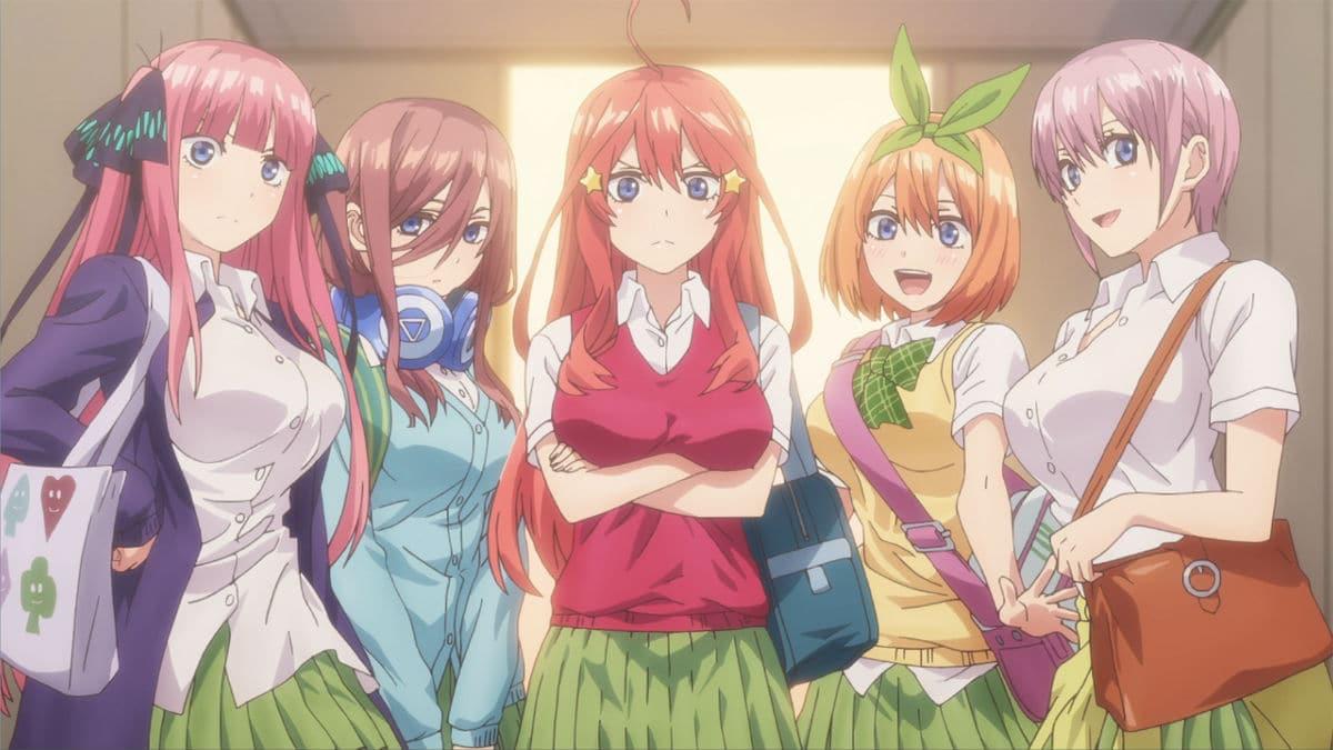 Gotoubun no Hanayome Season 2 ( The Quintessential Quintuplets 2 )